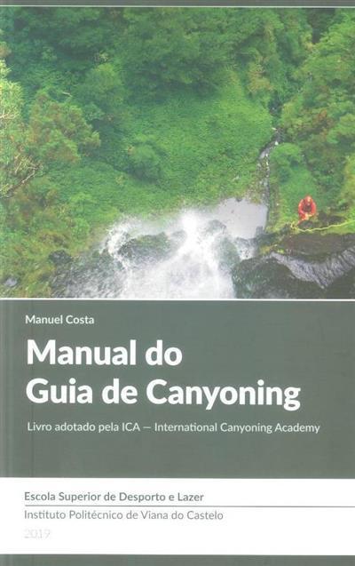 Manual do guia de canyoning (Manuel Costa)