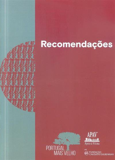 Recomendações Portugal mais velho (APAV - Associação Portuguesa de Apoio à Vítima)