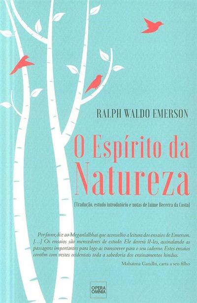 O espírito da natureza (Ralph Waldo Emerson)