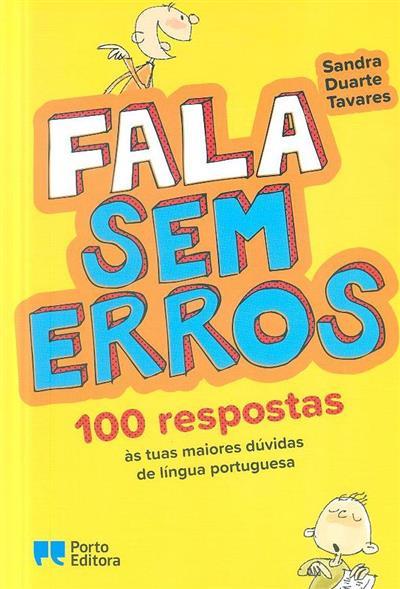 Fala sem erros (Sandra Duarte Tavares)