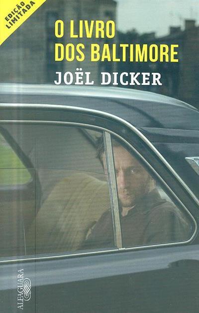 O livro dos Baltimore (Joël Dicker)