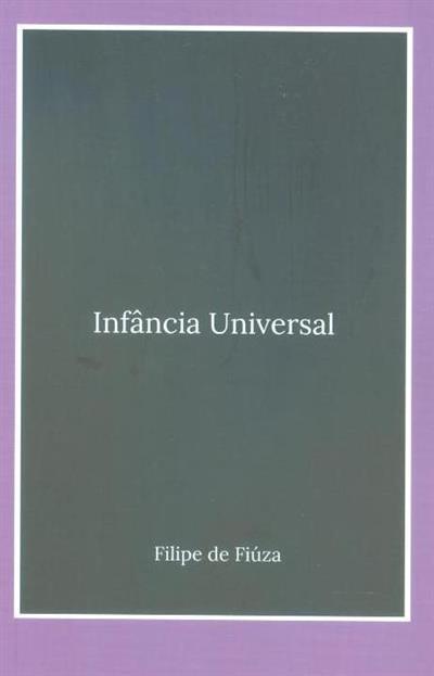 Infância universal (Filipe de Fiúza)