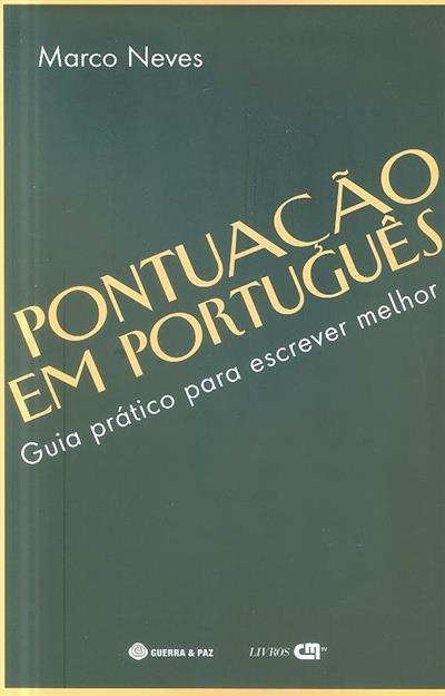 Pontuação em português (Marco Neves )