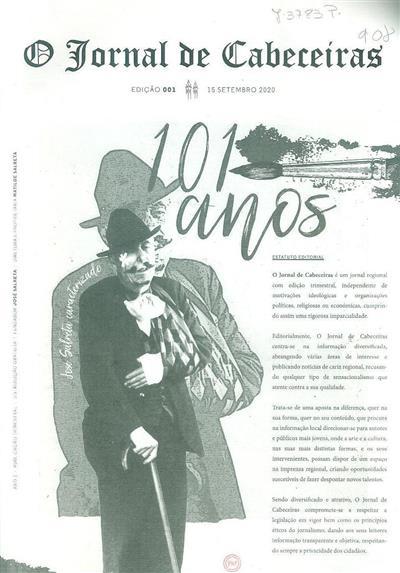 O jornal de Cabeceiras (fundador José Salreta)