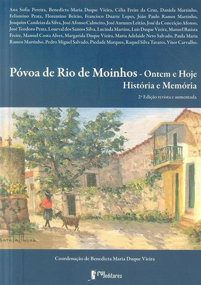 Póvoa de Rio de Moinhos (coord. Benedita Maria Duque Vieira)