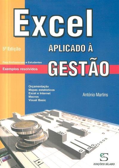 Excel aplicado à gestão (António Gonçalves Martins)