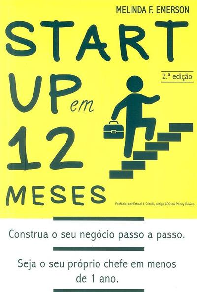 Startup em 12 meses (Melinda F. Emerson)