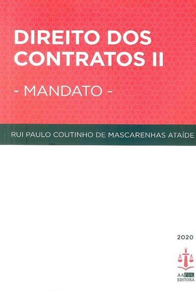 Mandato (Rui Paulo Coutinho Mascarenhas Ataíde)