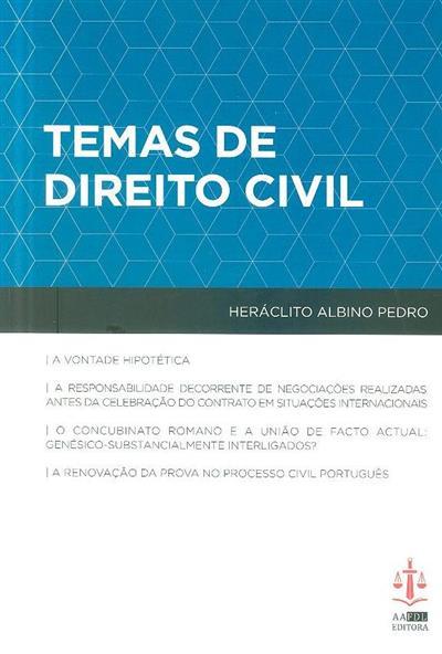 Temas de direito civil (Heráclito Albino Pedro)