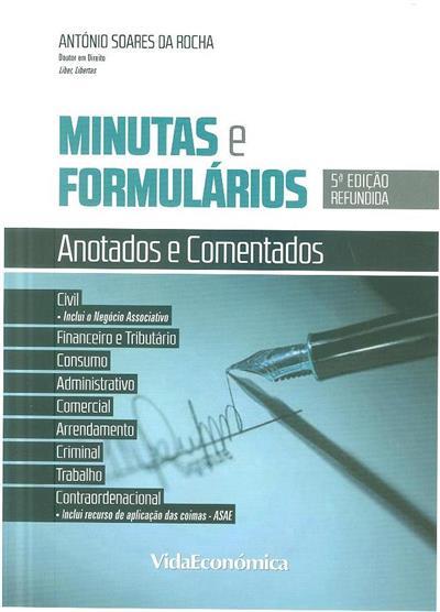 Minutas e formulários (António Soares da Rocha)