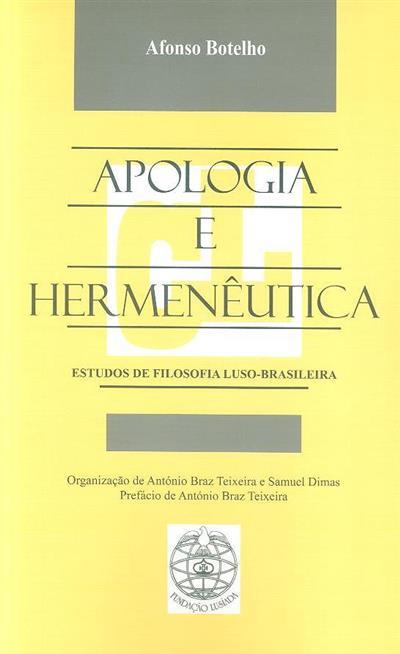 Apologia e hermenêutica (Afonso Botelho)