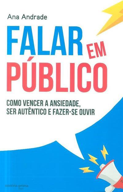 Falar em público (Ana Andrade)