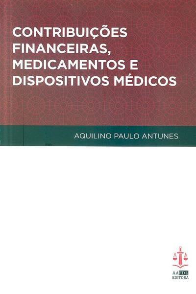 Contribuições financeiras, medicamentos e dispositivos médicos (Aquilino Paulo da Silva Antunes)