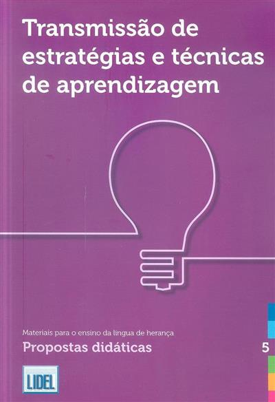 Transmissão de estratégias e técnicas de aprendizagem (Basil Schader, Valeria Bovina)