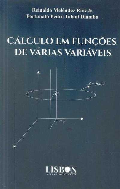 Cálculo em funções de várias variáveis (Reinaldo Meléndez Ruiz, Fortunato Pedro Talani Diambo)