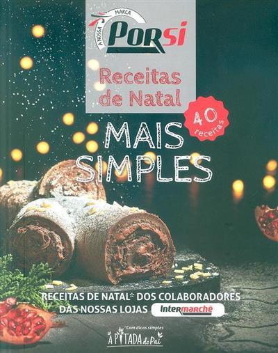 PorSi, receitas de natal mais simples (Rui Marques... [et al.])