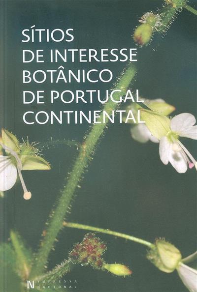 Sítios de interesse botânico de Portugal Continental (André Carapeto... [et al.])