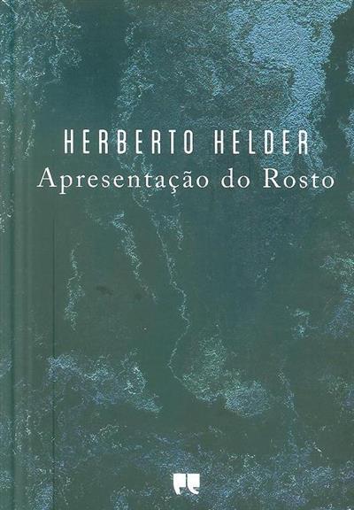 Apresentação do rosto (Herberto Helder)
