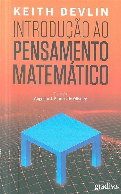 Introdução ao pensamento matemático (Keith Devlin)