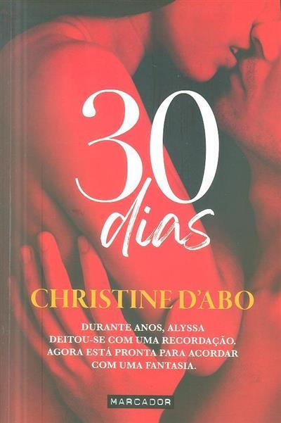 30 dias (Christine D'Abo)