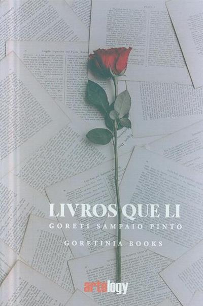 Livros que li (Goreti Sampaio Pinto)