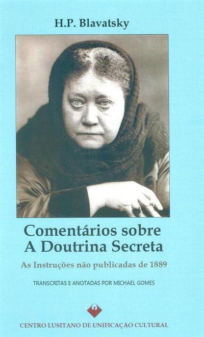 Comentários sobre a doutrina secreta (Helena P. Blavatsky)