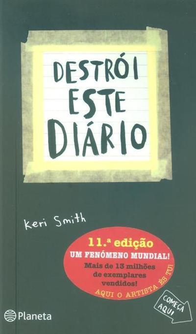 Destrói este diário (Keri Smith)