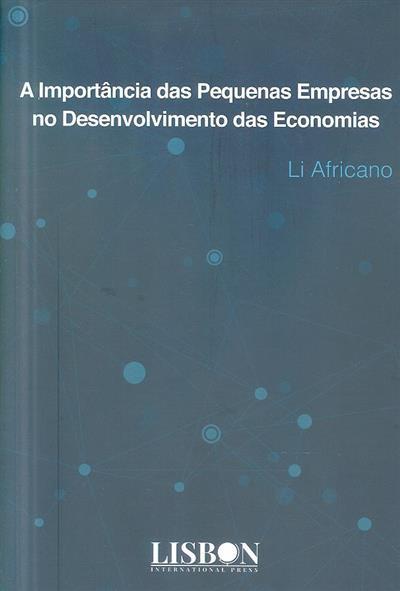 A importância das pequenas empresas no desenvolvimento das economias (Li Africano)