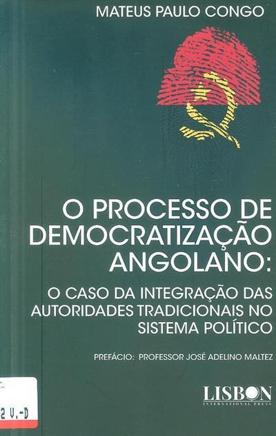 O processo de democratização angolano (Mateus Paulo Congo)
