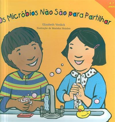 Os micróbios não são para partilhar (Elizabeth Verdick)