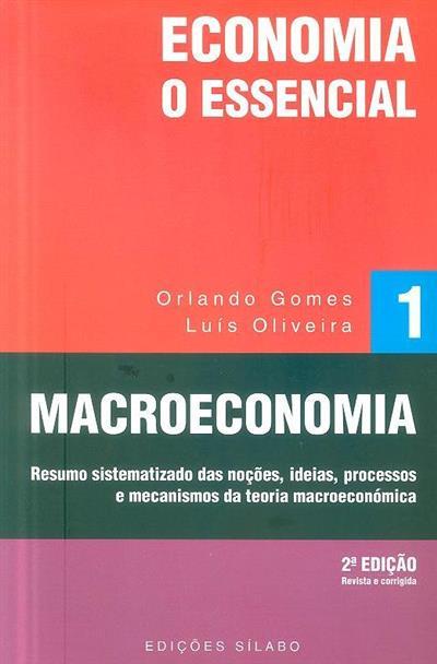 Macroeconomia (Orlando Gomes, Luís Oliveira)