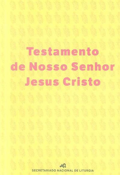 Testamento de Nosso Senhor Jesus Cristo