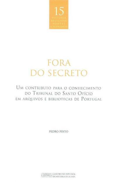 Fora do secreto (Pedro Pinto)