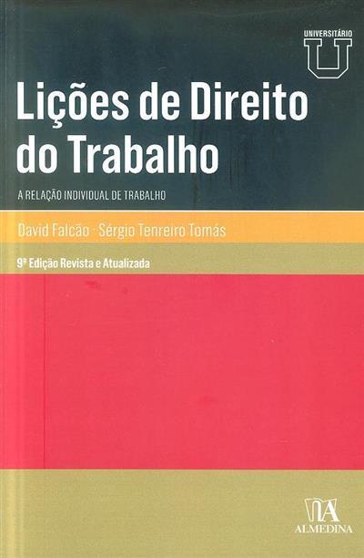 Lições de direito do trabalho (David Falcão, Sérgio Tenreiro Tomás)