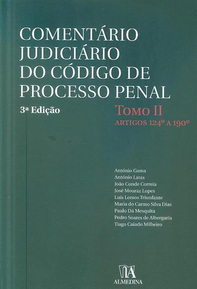 Comentário judiciário do código de processo penal (António Gama... [et al.])