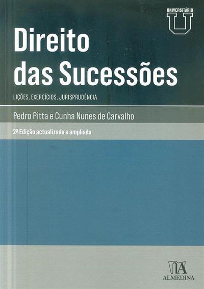 Direito das sucessões (Pedro Pitta e Cunha Nunes de Carvalho)
