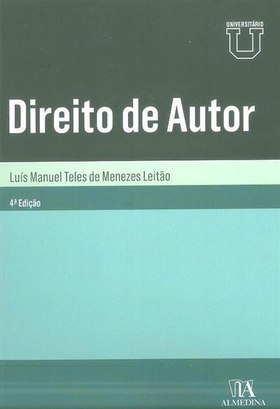Direito de autor (Luís Manuel Teles de Menezes Leitão)