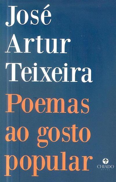 Poemas ao gosto popular (José Artur Teixeira)