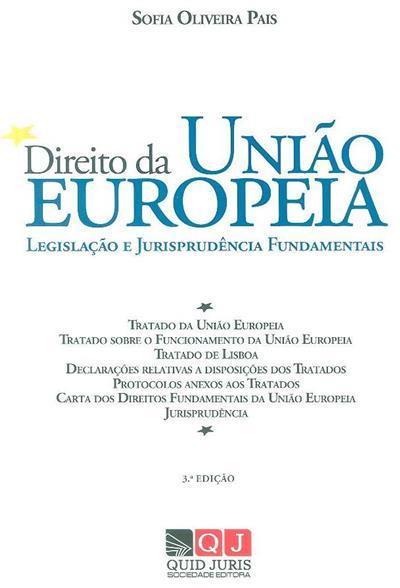 Direito da União Europeia ([compil.] Sofia Oliveira Pais)