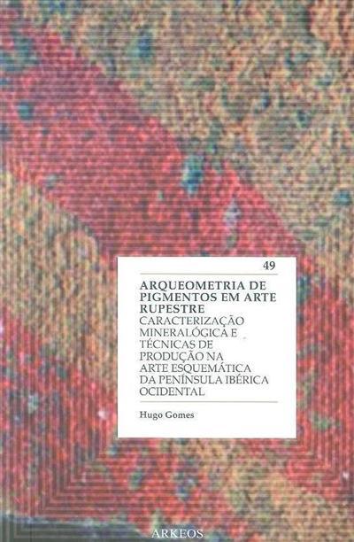 Arqueometria de pigmentos em arte rupestre (Hugo Gomes)