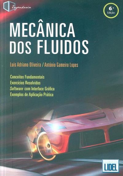 Mecânica dos fluidos (Luis Adriano Oliveira, António Gameiro Lopes)