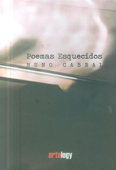 Poemas esquecidos (Nuno Cabral)