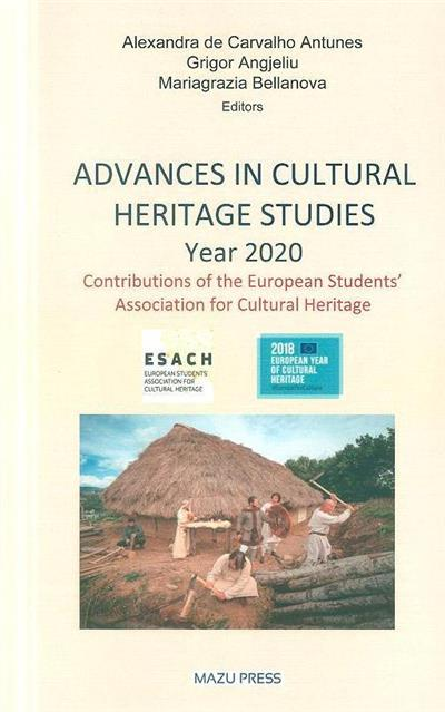 Advances in cultural heritage studies, year 2020
