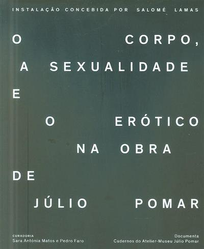O corpo, a sexualidade e o erótico na obra de Júlio Pomar (coord. Sara Antónia Matos, Pedro Faro)