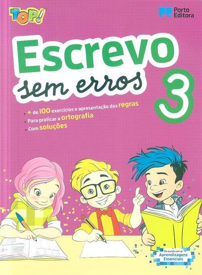 Escrevo sem erros 3 (Isabel Sebastião)