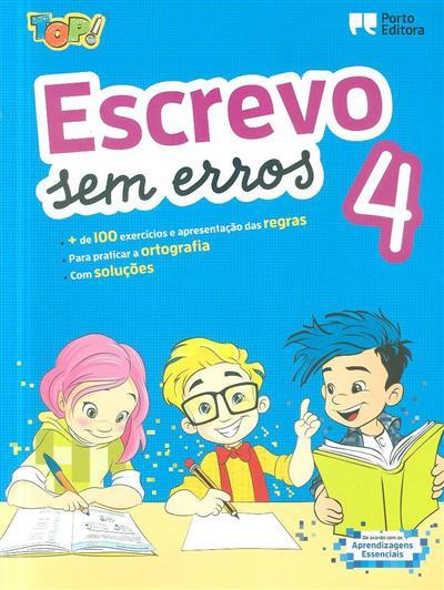 Escrevo sem erros 4 (Isabel Sebastião)