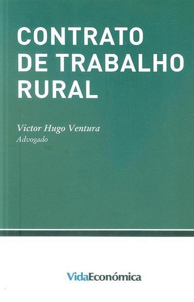 Contrato de trabalho rural (Victor Hugo Ventura)