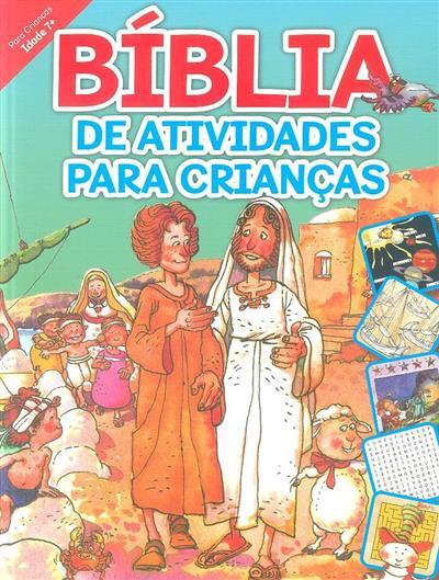 Bíblia de atividades para crianças (L. M. Alex)