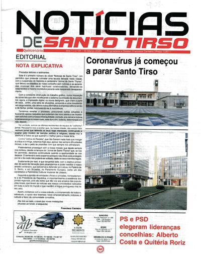 Notícias de Santo Tirso (propr. e dir. Francisco Carneiro)