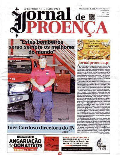 Jornal de Proença (propr. e ed. Fábrica da Igreja Paroquial de Proença-a-Nova)